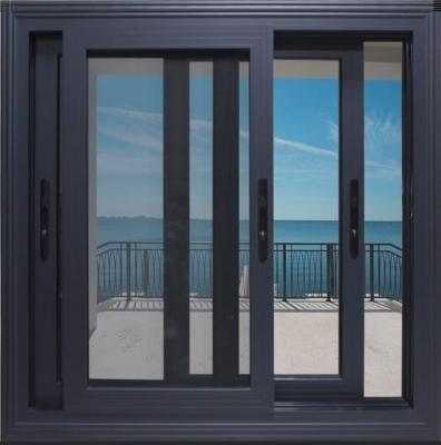 Aluminum Domal Series Sliding Window